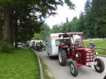 Tractor Camping