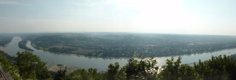 View from Drachenfelds